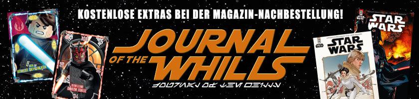 Journal of the Whills - Kostenlose Extras bei der Heftnachbestellung