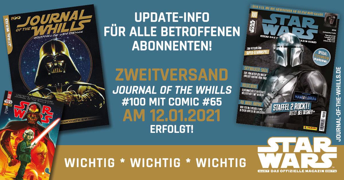 Journal of the Whills #100 - Zweitversand erfolgt