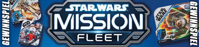 Das Star Wars Mission Fleet - Gewinnspiel