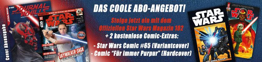 Das coole Abo-Angebot mit zwei kostenlosen Comic-Extras